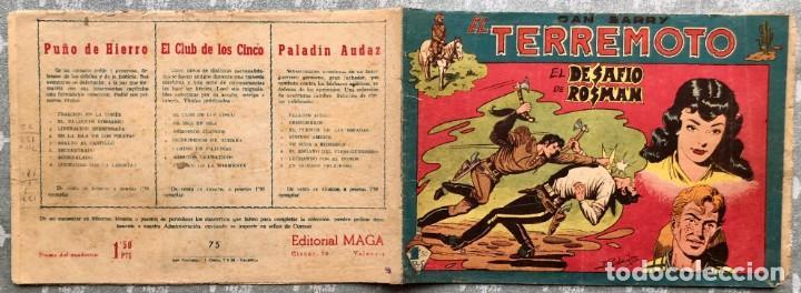 Tebeos: ESCASO Y DIFÍCIL!! DAN BARRY EL TERREMOTO 75 MAGA. ÚNICO EN TODOCOLECCIÓN - Foto 15 - 155873238