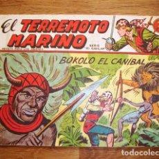 Tebeos: EL TERREMOTO MARINO. Nº 22 : BOKOLO EL CANÍBAL (SERIE EL GAVILÁN). Lote 155950262