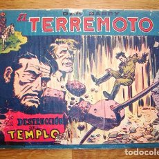 Tebeos: DAN BARRY : EL TERREMOTO. Nº 45 : LA DESTRUCCIÓN DEL TEMPLO. Lote 155950322