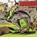 Tebeos: APACHE -II- Nº 21 -EL HACHA DE GUERRA-1960-GRAN CLAUDIO TINOCO-REGULAR-DIFÍCIL-LEAN-0589. Lote 156750154