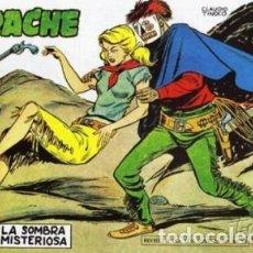 Tebeos: APACHE -II- Nº 25 -LA SOMBRA MISTERIOSA-1960-GRAN CLAUDIO TINOCO-REGULAR-DIFÍCIL-LEAN-0590. Lote 156751326