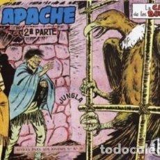 Tebeos: APACHE -II- Nº 26 -LA CASA DE LOS BUITRES-1960-GRAN CLAUDIO TINOCO-CORRECTO-DIFÍCIL-LEAN-0591. Lote 156751866