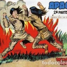Tebeos: APACHE -II- Nº 28 -DEMASIADO TARDE-1960-GRAN CLAUDIO TINOCO-REGULAR-DIFÍCIL-LEAN-0593. Lote 156754034