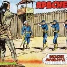 Tebeos: APACHE -II- Nº 32 -NOCHE DE ANGUSTIA-1960-GRAN CLAUDIO TINOCO-BUENO-DIFÍCIL-LEAN-0595. Lote 156762026