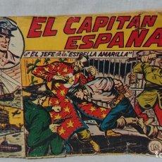 BDs: CAPITÁN ESPAÑA - CÓMIC ORIGINAL CAPITÁN ESPAÑA - MAGA - AÑO 1955 . Lote 157801846