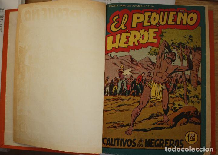 Tebeos: EL PEQUEÑO HEROE - COMPLETA ENCUADERNADA - Foto 3 - 157839158