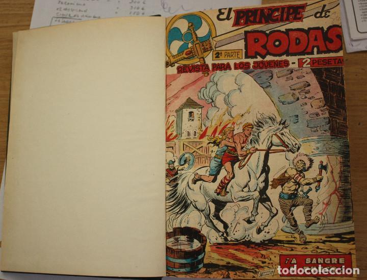 EL PRINCIPE DE RODAS 2ª SERIE - COMPLETA ENCUADERNADA (Tebeos y Comics - Maga - Otros)