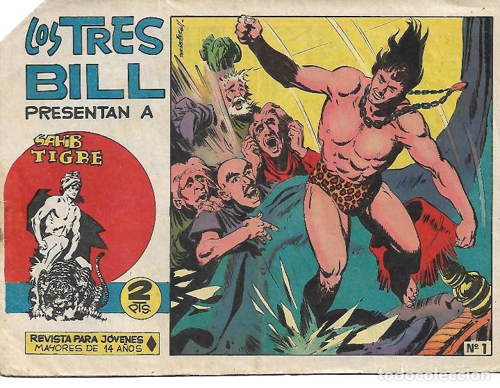 SAHIB TIGRE - COMPLETA (Tebeos y Comics - Maga - Otros)