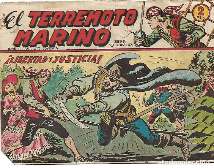 EL TERREMOTO MARINO - COMPLETA (Tebeos y Comics - Maga - Otros)
