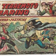 Tebeos: EL TERREMOTO MARINO - COMPLETA. Lote 157845262