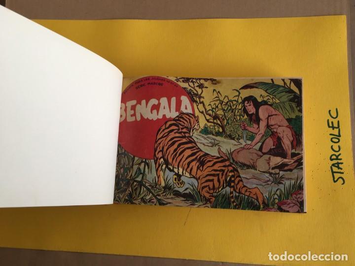Tebeos: BENGALA 1ª SERIE. 1 TOMO con 54 Nº. AÑO 1959. EDITORIAL MAGA - Foto 4 - 158017670