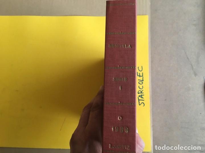 Tebeos: BENGALA 1ª SERIE. 1 TOMO con 54 Nº. AÑO 1959. EDITORIAL MAGA - Foto 2 - 158017670