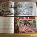 Tebeos: PIEL DE LOBO 1ª EDICION. 2 TOMOS CON 90 Nº. AÑO 1959. EDITORIAL MAGA. Lote 158073162