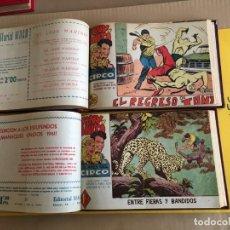 Tebeos: TONY Y ANITA. 2 TOMOS CON 81 Nº. AÑO 1960. EDITORIAL MAGA. Lote 158075478