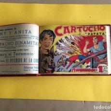 Tebeos: CARTUCHO Y PATATA. 1 TOMO CON 25 Nº. AÑO 1956. EDITORIAL MAGA. Lote 158112438