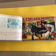 Tebeos: CORSARIO SIN ROSTRO. 1 TOMO CON 42 Nº. AÑO 1959. EDITORIAL MAGA. Lote 158240530