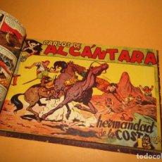 Tebeos: COLECCIÓN COMPLETA 1/37 CARLOS ALCÁNTARA DE LA EDITORIAL MAGA ORIGINAL DEL AÑO 1955. Lote 158313590