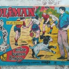 Tebeos: OLIMAN Nº 22 CON SEVILLA CLUB DE FUTBOL. Lote 158584102