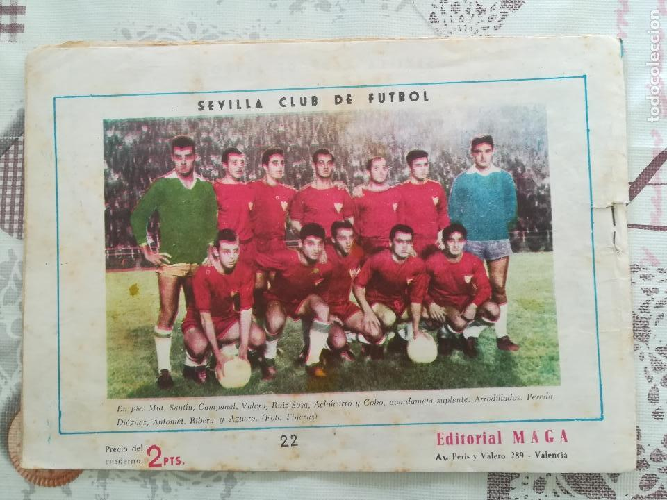 Tebeos: OLIMAN Nº 22 CON SEVILLA CLUB DE FUTBOL - Foto 2 - 158584102