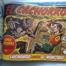 Tebeos: TEBEOS ANTIGUOS TOMO/EL CACHORRO PANTERA NEGRA ETC.. Lote 159029640
