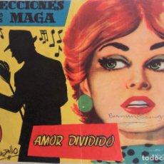 Tebeos: COLECCIONES MAGA Nº 6 - AMOR DIVIDIDO. Lote 159057130