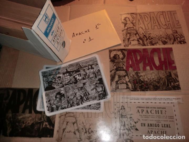FOTOMECANICA COMPLETA DE APACHE 1,( UNA JOYA DE COLECCION), SON 56 NUM ,UNICA EN INTERNET¡¡¡SOLO HOY (Tebeos y Comics - Maga - Apache)