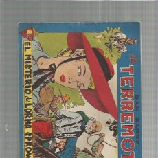 Tebeos: DAN BARRY EL TERREMOTO 54 ORIGINAL. Lote 159681302