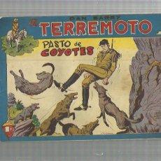 Tebeos: DAN BARRY EL TERREMOTO 53 ORIGINAL. Lote 159681478