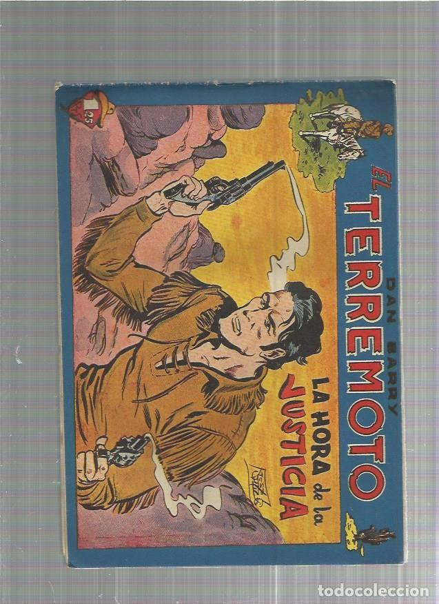 DAN BARRY EL TERREMOTO 52 ORIGINAL (Tebeos y Comics - Maga - Dan Barry)