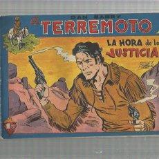 Tebeos: DAN BARRY EL TERREMOTO 52 ORIGINAL. Lote 159681642