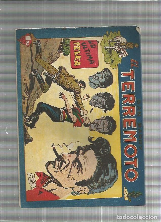 DAN BARRY EL TERREMOTO 57 ORIGINAL (Tebeos y Comics - Maga - Dan Barry)