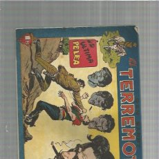 Tebeos: DAN BARRY EL TERREMOTO 57 ORIGINAL. Lote 159681826