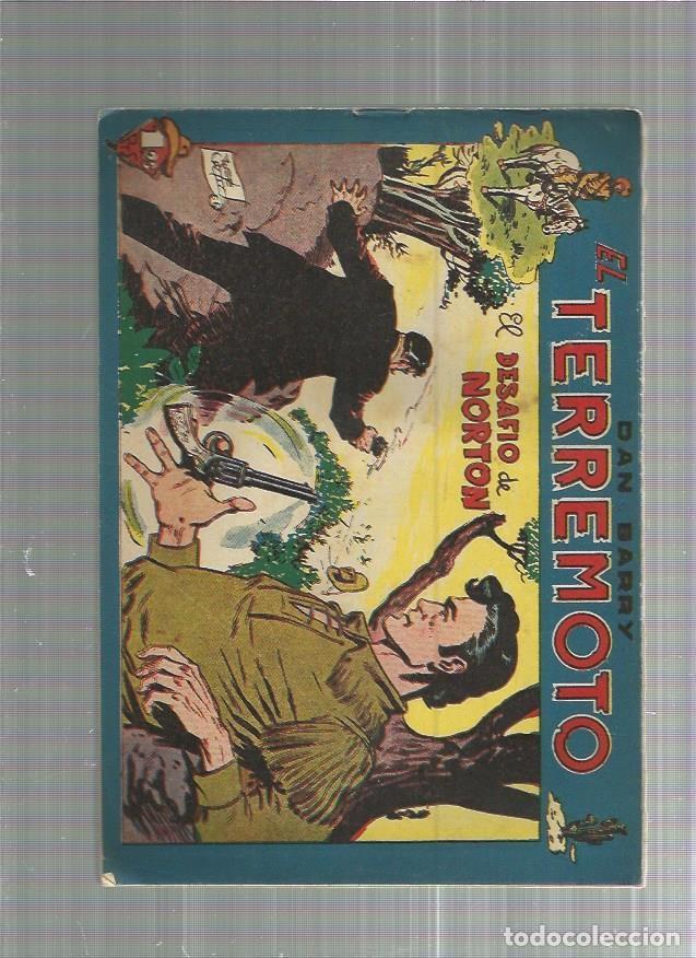 DAN BARRY EL TERREMOTO 56 ORIGINAL (Tebeos y Comics - Maga - Dan Barry)