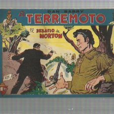 Tebeos: DAN BARRY EL TERREMOTO 56 ORIGINAL. Lote 159681978