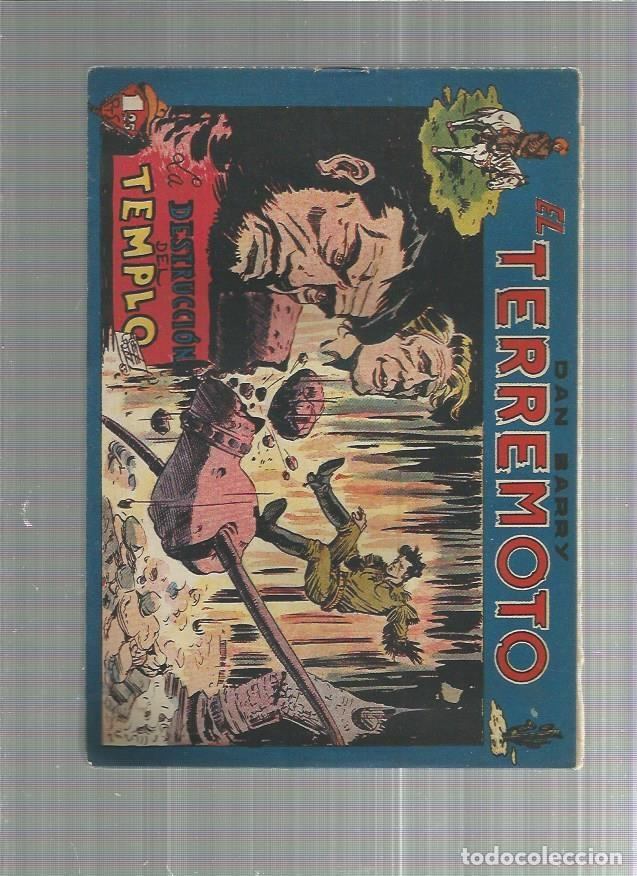 DAN BARRY EL TERREMOTO 45 ORIGINAL (Tebeos y Comics - Maga - Dan Barry)
