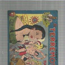 Tebeos: DAN BARRY EL TERREMOTO 59 ORIGINAL. Lote 159682590