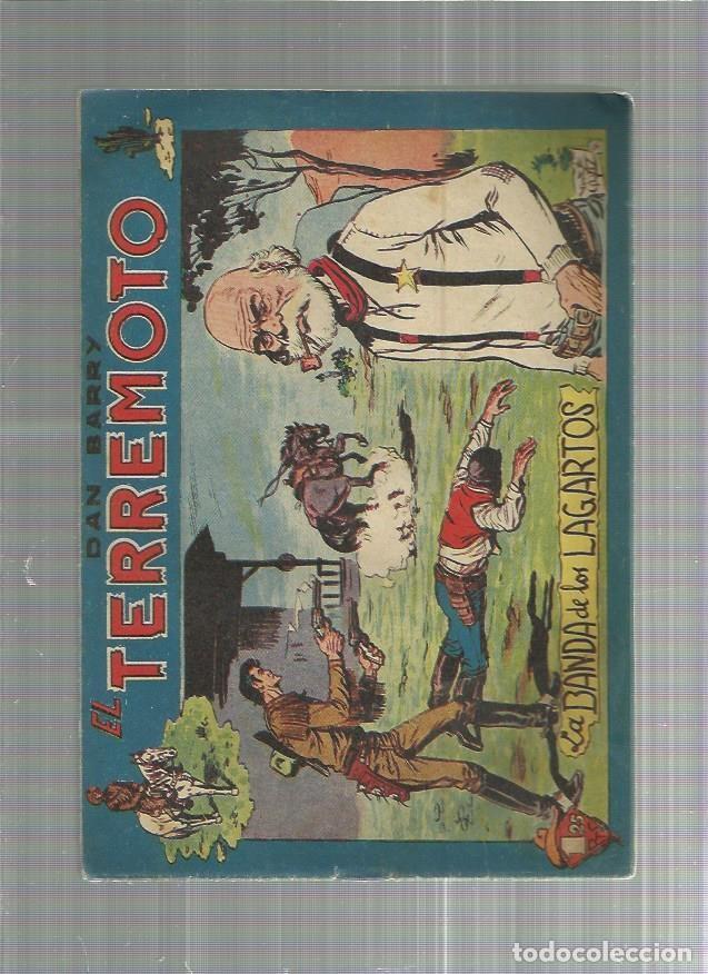 DAN BARRY EL TERREMOTO 55 ORIGINAL (Tebeos y Comics - Maga - Dan Barry)