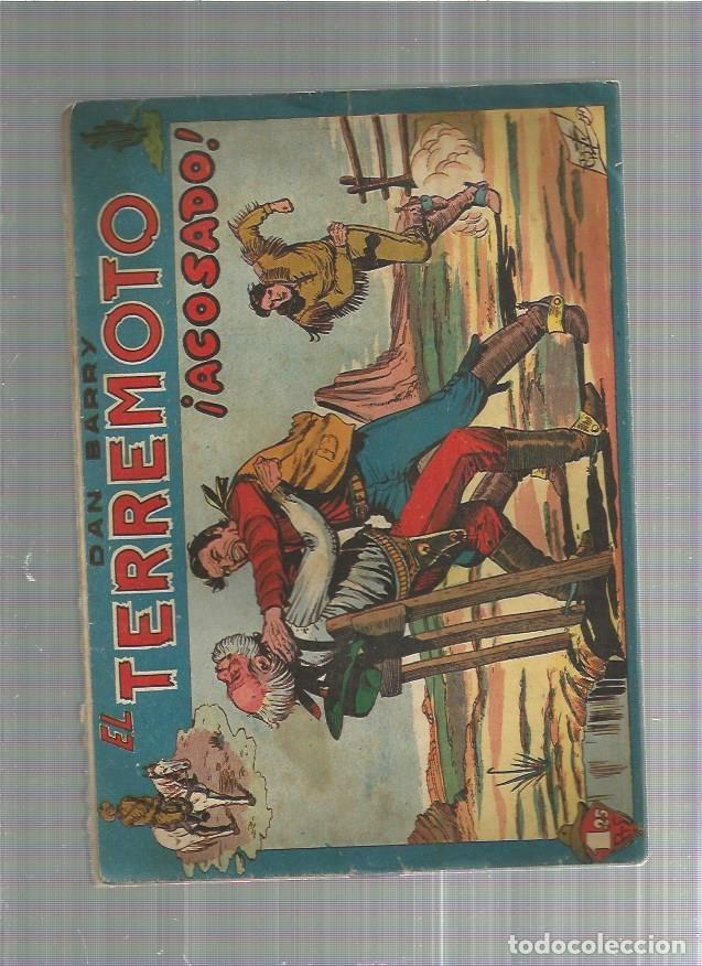 DAN BARRY EL TERREMOTO ACOSADO (Tebeos y Comics - Maga - Dan Barry)