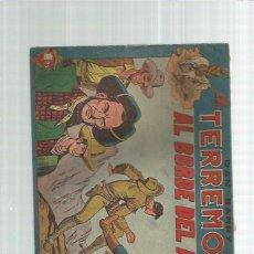 Giornalini: DAN BARRY EL TERREMOTO ORIGINAL 2. Lote 159832558