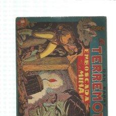 Giornalini: DAN BARRY EL TERREMOTO ORIGINAL 7. Lote 159833006