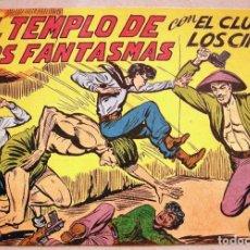 Tebeos: EL CLUB DE LOS CINCO - Nº 11 CUADERNILLO SIN ABRIR - MAGA 1957. Lote 160089790