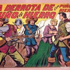 Tebeos: PUÑO DE HIERRO - Nº 10 CUADERNILLO SIN ABRIR - MAGA 1957. Lote 160090418