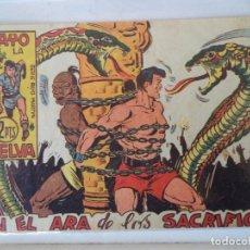Tebeos: RAYO DE LA SELVA Nº58 MAGA ORIGINAL. Lote 160575758