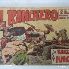 Tebeos: EL RANCHERO Nº 24 MAGA ORIGINAL. Lote 160614086