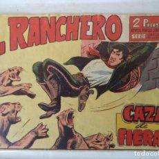 Tebeos: EL RANCHERO Nº 3 MAGA ORIGINAL. Lote 160614274