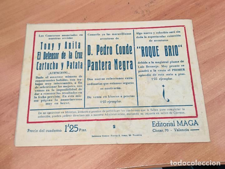 Tebeos: PANTERA NEGRA Nº 2 (ORIGINAL MAGA) 1,25 PTAS (COIM27) - Foto 2 - 161880134
