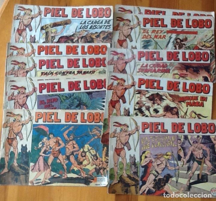 PIEL DE LOBO, ORIGINAL COMPLETA: DEL 1 AL 19 SUELTOS, DEL 20 AL 90 ENCUADERNADOS EN UN TOMO (Tebeos y Comics - Maga - Piel de Lobo)