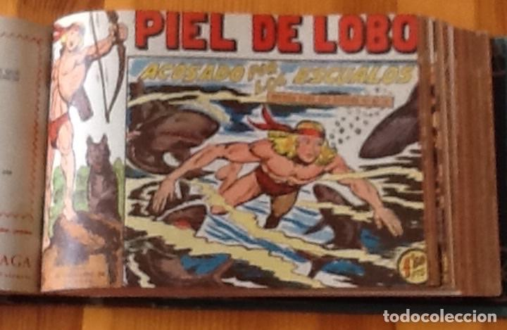 Tebeos: PIEL DE LOBO, ORIGINAL COMPLETA: del 1 al 19 SUELTOS, DEL 20 al 90 ENCUADERNADOS EN UN TOMO - Foto 3 - 162590710