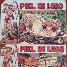 Tebeos: COLECCIÓN PIEL DE LOBO Nº 41, 43 - LA SOMBRA ACUSADORA Y LA PERLA DE LA LUNA. Lote 162686718