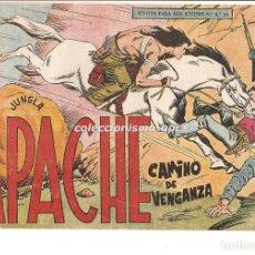 Tebeos: APACHE Nº 19 TEBEO ORIGINAL 1958 CAMINO DE VENGANZA EDITORIAL MAGA OFERTA !! MIRA !!. Lote 163339466